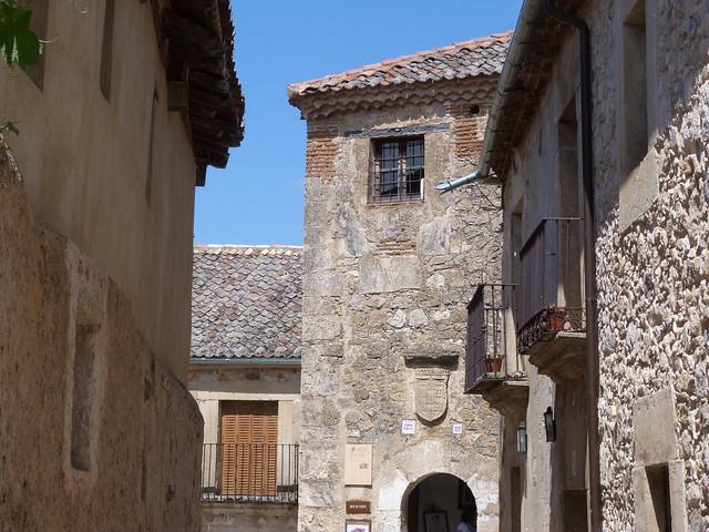 Puerta de la Villa de Pedraza (Segovia)