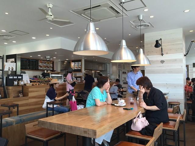R.O.STAR CAFE in Toyosu Tokyo