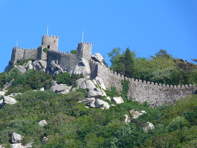Castillo de los moros (Sintra, Portugal)