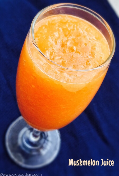Muskmelon Juice3