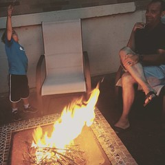 Campfire with Gavin & Chad #roadtriphome