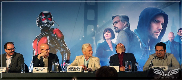 The Establishing Shot: MICHAEL PEÑA DID NOT HEAR THE QUESTION @ THE ANT-MAN EUROPEAN PRESS CONFERENCE - CORINTHIA HOTEL LONDON