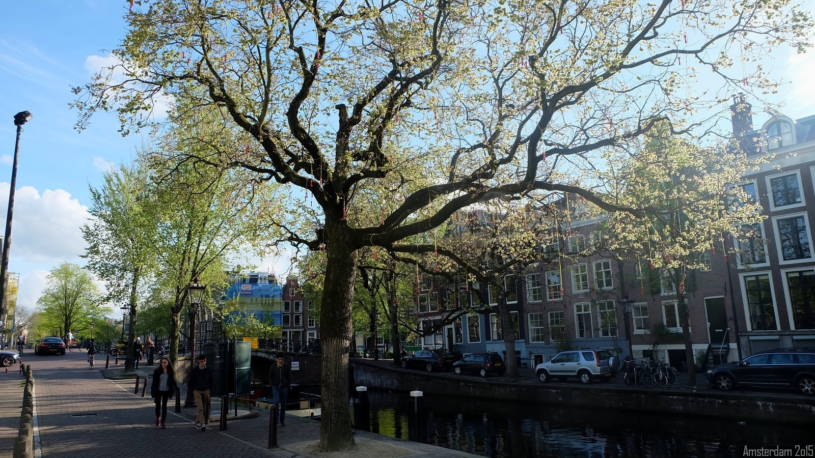 Amstelveld, Amsterdam, Nederland