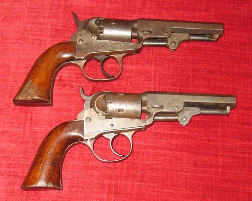 J. M. Cooper Percussion Revolvers