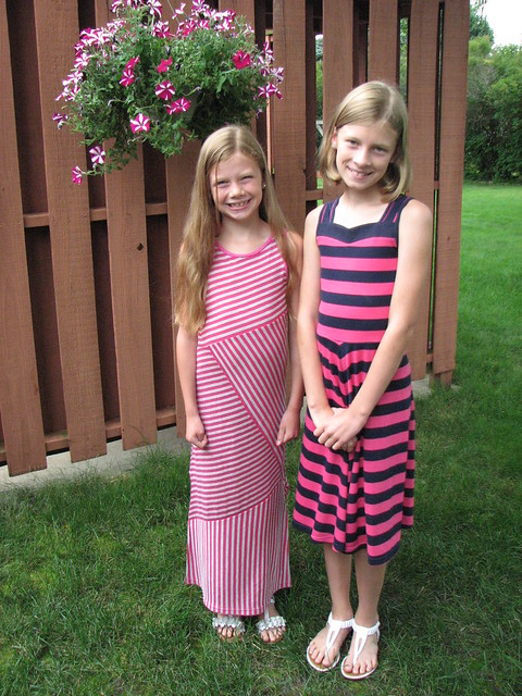 Stripey Sundresses