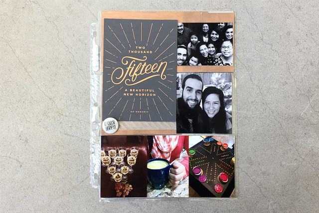 jasmine's pocket scrapbook // project life :: january 2015