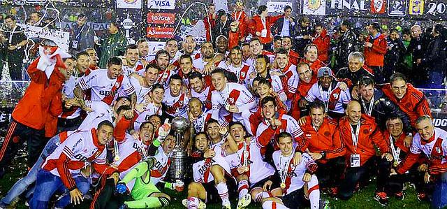 River Campeon Libertadores de América 2015