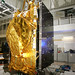 HOTBIRD 13E satellite in the clean room