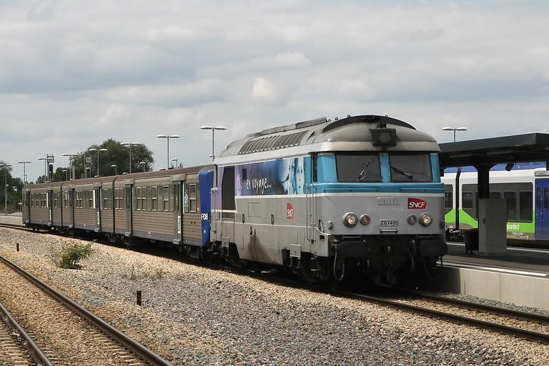 SNCF 267455 te Laon op 20-6-2014