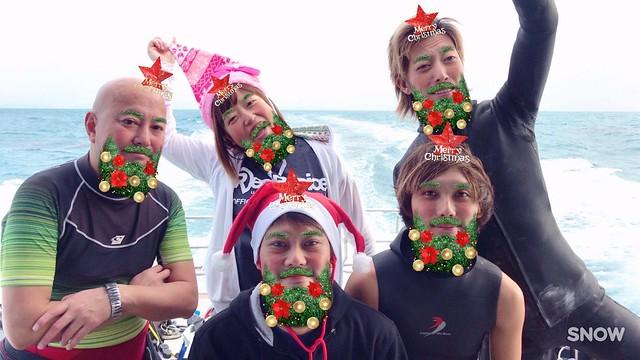 クリスマス!サンタさん祭りや!