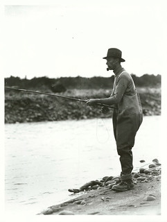 Duke of York (later King George VI) at Tongariro River (1927)