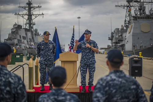 Naval Surface and Mine Warfighting Development Center Activates at Naval Base San Diego