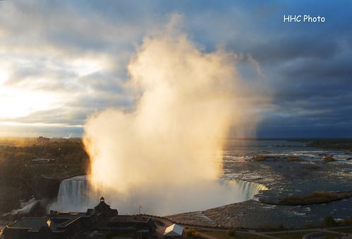 newyork sunrise niagarafalls nikon horseshoefalls 日出 尼加拉瓜大瀑布 纽约 d810 大瀑布