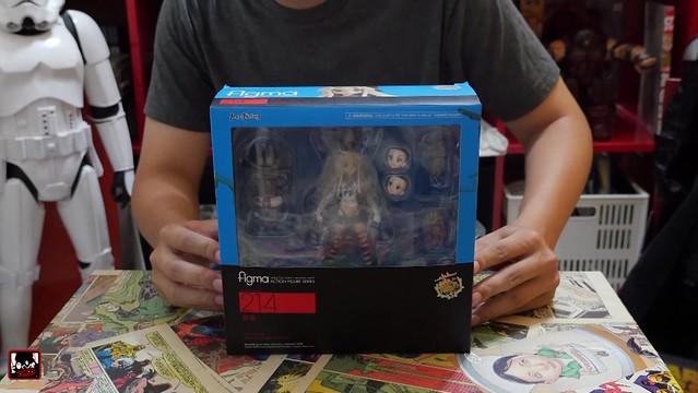 【玩具人LunchBoxTW投稿】FIGMA 214 艦これ 鑑娘 島風 日常 開箱評測介紹