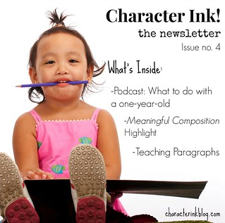 Character Ink Newsletter no. 4