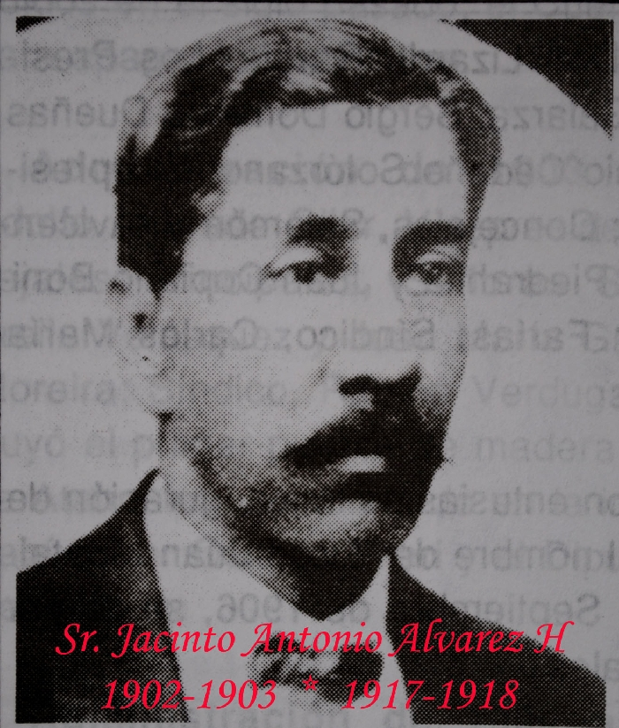 Sr. Jacinto Antonio Alvarez H