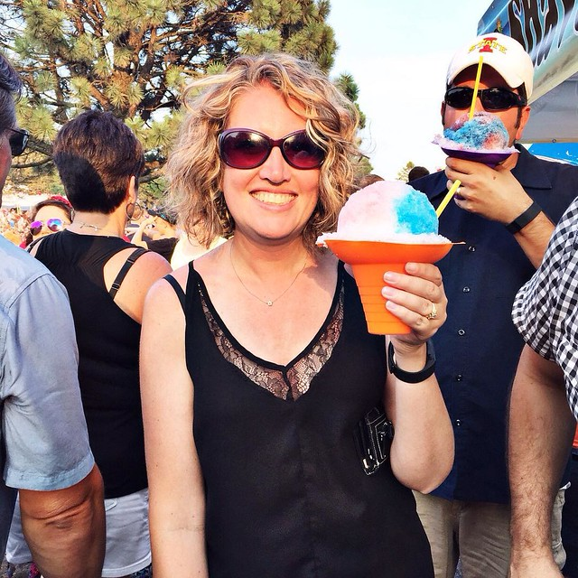I would like one snow cone as big as my head please! #sitpfest