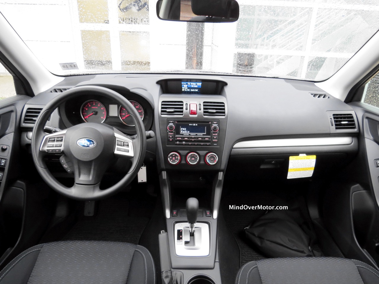 2015 Subaru Forester Front Interior