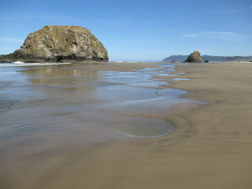 Between Arcadia State Park and Cannon Beach, Oregon