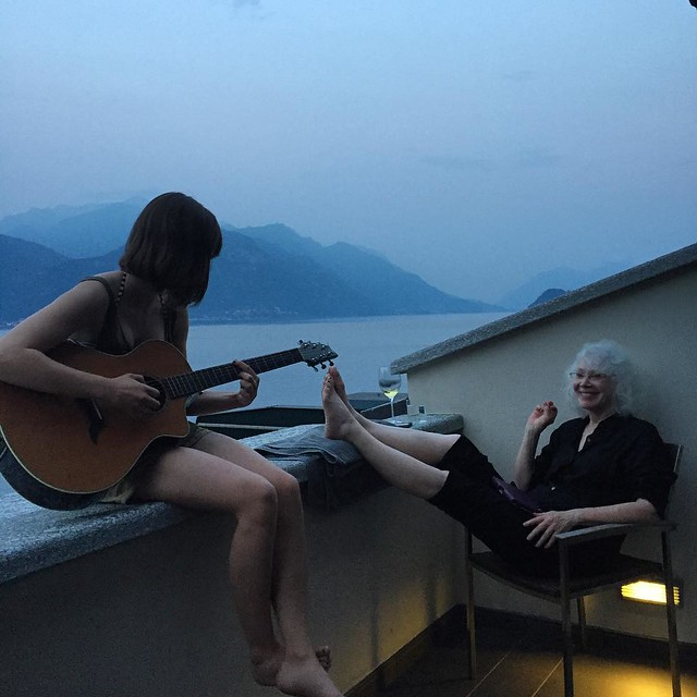 Private show on Lake Como. Yup, that rhymes.