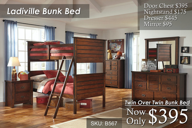 Ladiville Bunk Bedroom