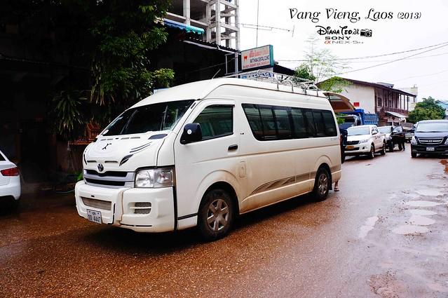 Laos 14 - Minivans Vientiane