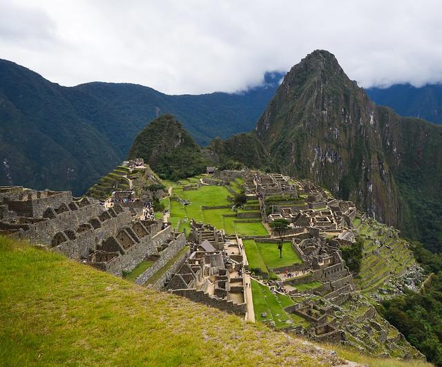Maravilla del mundo Machu Picchu