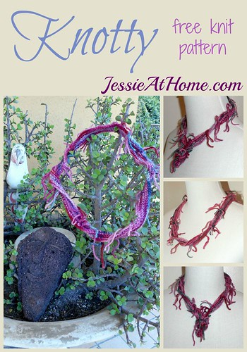 Knotty ~ Free Knit Pattern by Jessie At Home
