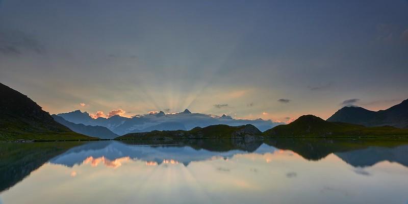 Sunset - Lacs de Fenêtre