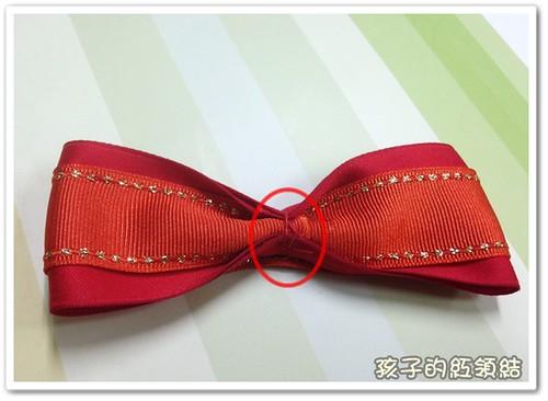 紅領結diy 003