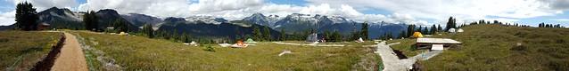 Camping Spot Panorama