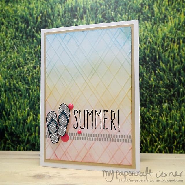 Summer card #354