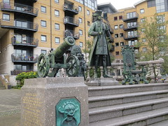 UK - London - Near Deptford - Statue of Peter the Great
