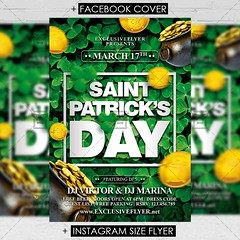 Saint Patricks Day - Premium Flyer Template