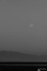 Full Moon Over Admiralty Inlet, Whidbey Island, Washington, 2016