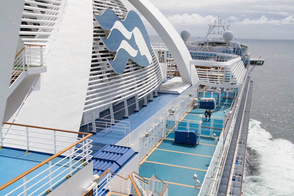 Ruby Princess | Ship tour photos (exterior)