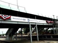 Refurbished Belmont Park Station