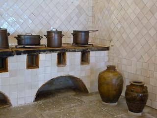Cocina del Palacio Nacional de Sintra (Portugal)