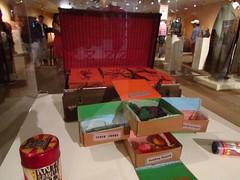 Fever Fudge, Fainting Fancies and Nosebleed Nougat - Hogwarts sweets - The Harry Potter Exhibition - Warner Bros. Studio VIP Tour - Burbank, Los Angeles, California, USA