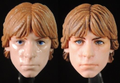 【玩具人Goosefish投稿】孩子寶Star Wars The Black Series Luke Skywalker六吋路克臉部補粧分享