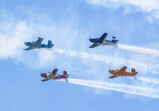 Hon Mention 1 - Formation Wings Over Flagler Air Show - Marcia Jewell