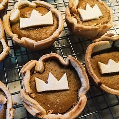 End of the Habsburgs mini pumpkin pies