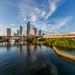 Platt Street Bridge Wide View, Tampa, Florida by Photomatt28