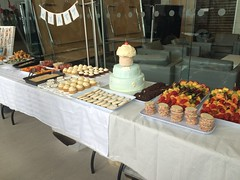 Desserts for birthday party