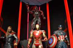 iron man, machine, superhero, action figure,
