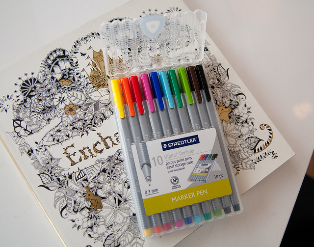 A Coloring Book Club for Grown-Ups | DIY Del Ray