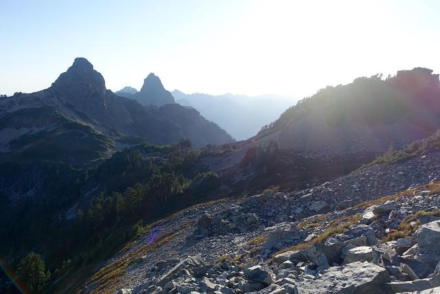 Big old jaggedy peaks