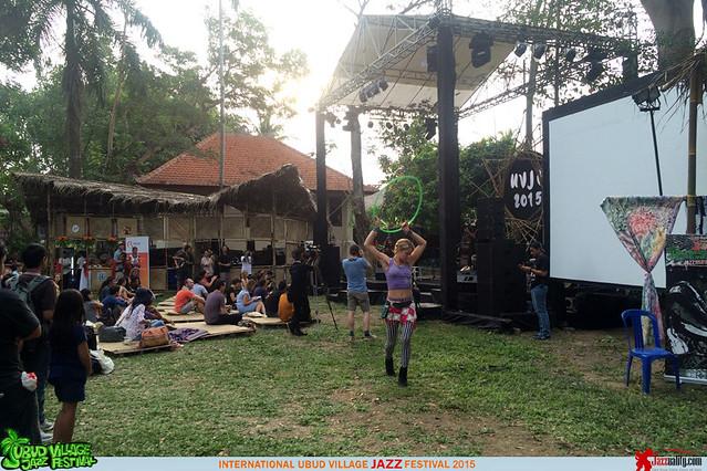 Ubud Village Jazz Festival 2015 - Nita Aartsen -Dancing Girl