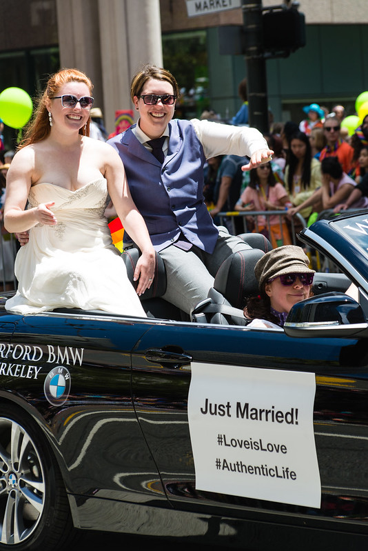 San Francisco Pride / Just Married