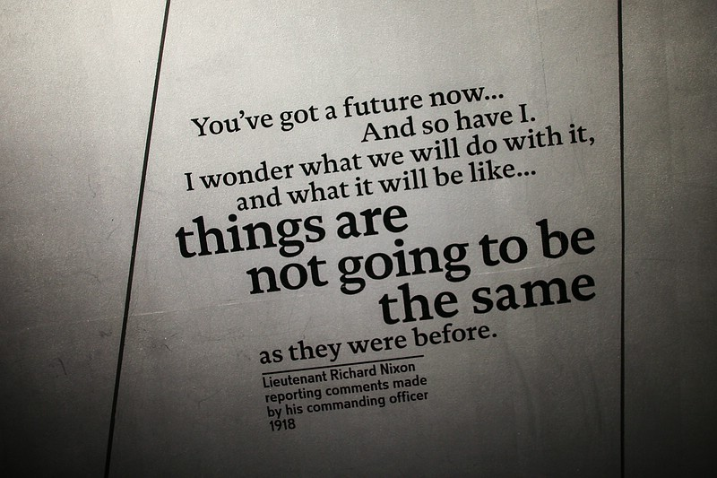 Things are not going to be the same